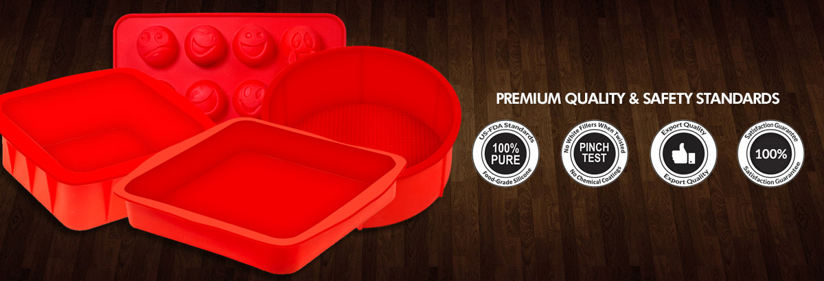 Premium Silicone Bakeware from Baking Equipments