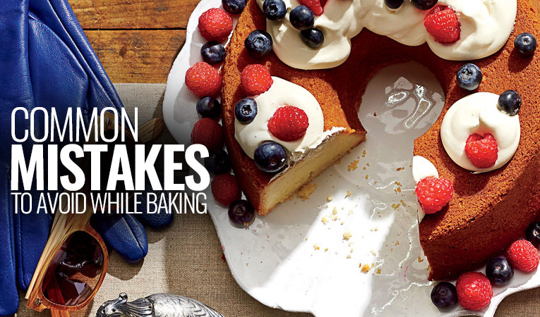 Common mistakes you should avoid while Baking