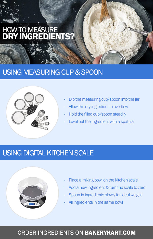 Quick Guide on How to Measure Dry Ingredients For Baking
