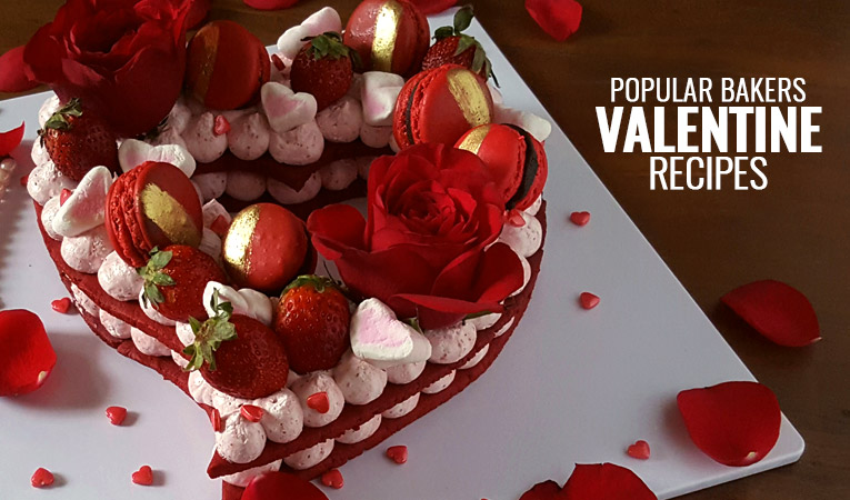 Popular Bakers and Their Favourite Valentine's Day Dessert Recipes