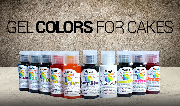 Top 10 gel colours for cake in India