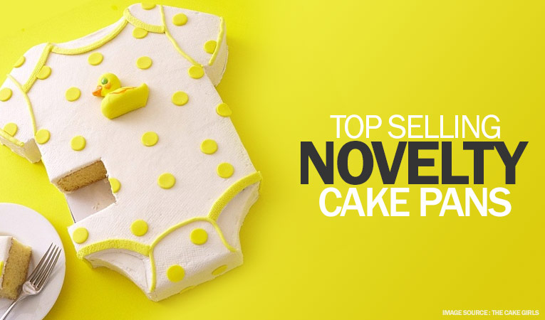 Top selling novelty cake pans in India