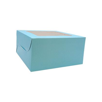 10X10X5 - Blue Cake Box - 10pcs