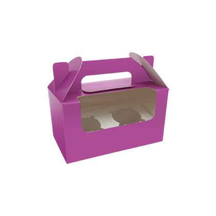 2 Cavity Cupcake Box