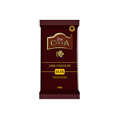 2M Cocoa Dark Chocolate 46.5% 10kg