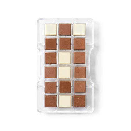 Square 25 X 25 mm Chocolate Mould