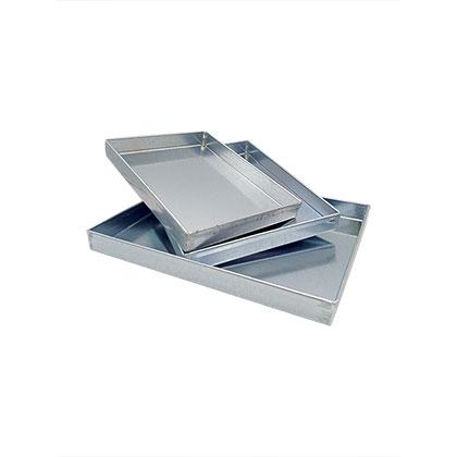 2.5 cms Rectangular Baking Trays  - 3 Pc