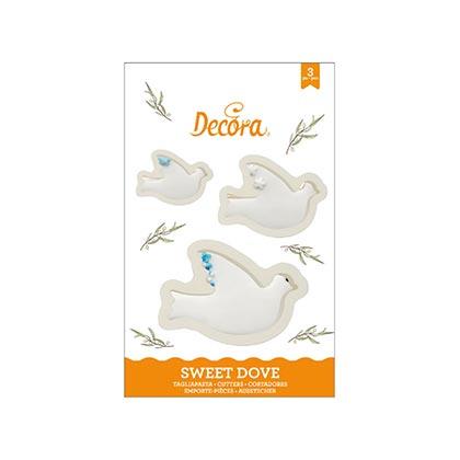 Doves Cookie Cutters Kit - 3 Pcs