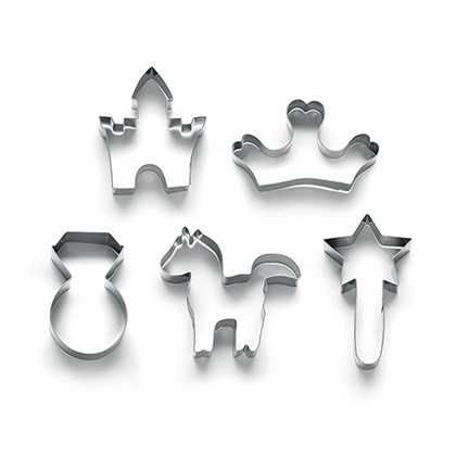 Lekue Princess Cookie Cutter Kit