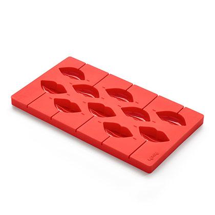 Lekue Red Platium Silicon Pop Kiss