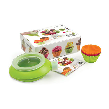 Lekue Cupcake Kit with Decomax