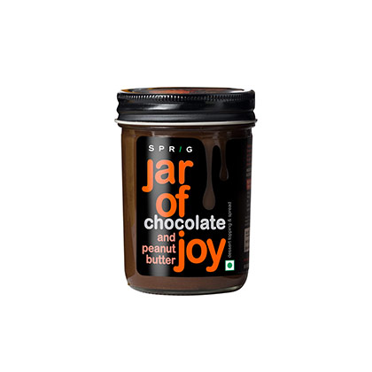Jar of Joy - Chocolate and Peanut Butter