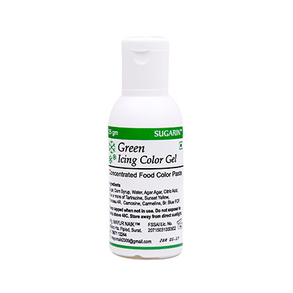 Sugarin Green Icing Color Gel