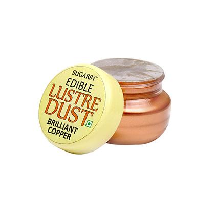 Sugarin Edible Brilliant Copper Lustre Dust