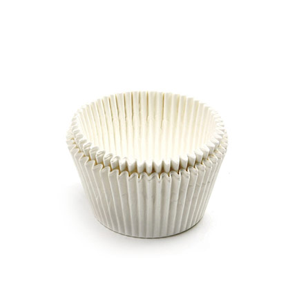 Off White Cupcake & Muffin Liner