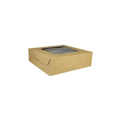 Kraft Paper 4 pcs Brownie Boxes - 50pcs