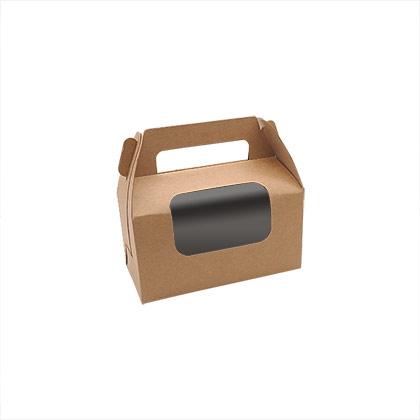 2 Jar Kraft Paper Packaging Box