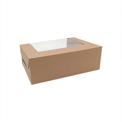6 Cavity Cupcake Packaging Box - 50 pcs