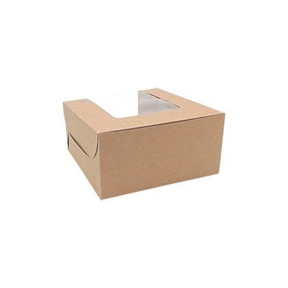 4 Cavity Cupcake Box - 50pcs