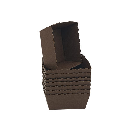 Square Paper Brownie Tray - 70pcs