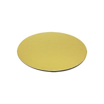 Golden Round Cake Base - 10 inch - 50pcs