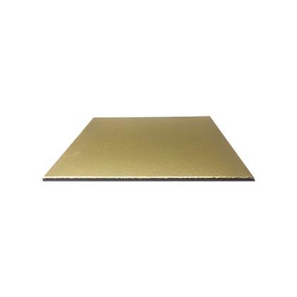 Golden Square Cake Base - 10 inch - 50pcs