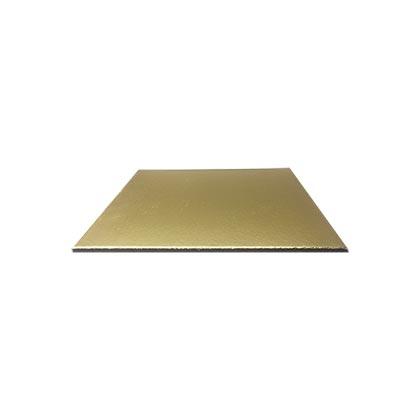 Golden Square Cake Base - 8 inch - 50pcs