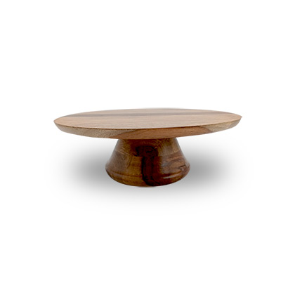 10inch Wooden Cake Stand