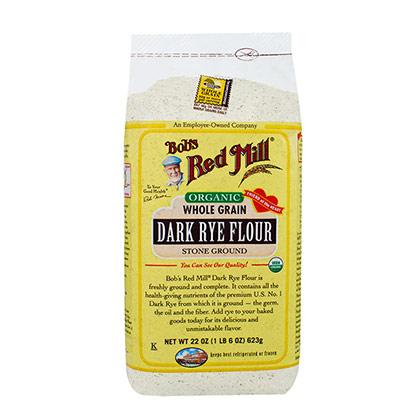 Organic Rye Flour Dark