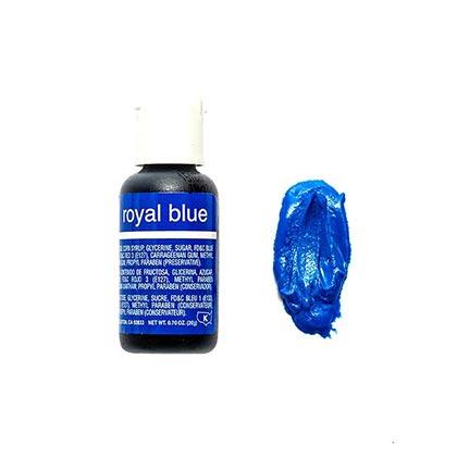 Chefmaster Gel Royal Blue 70 Oz - 20ml