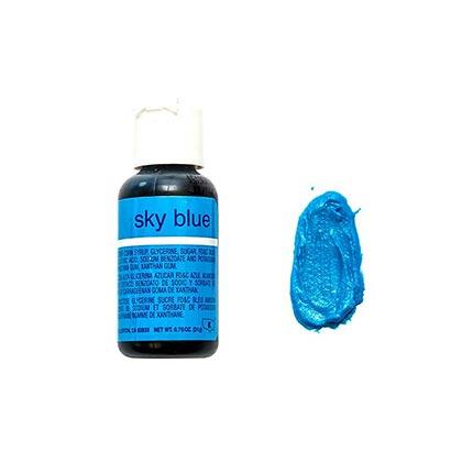 Chefmaster Gel Sky Blue 70 Oz - 20ml