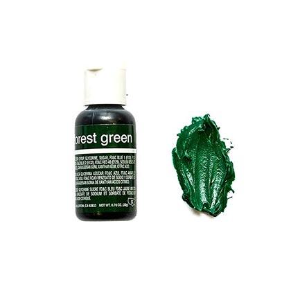 Chefmaster Gel Forest Green 70 Oz  - 20ml