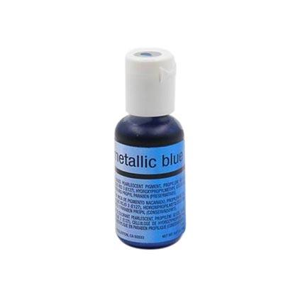 Chefmaster Airbrush Metallic Color Blue 19ml