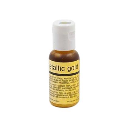 Chefmaster Airbrush Metallic Color Gold 19ml