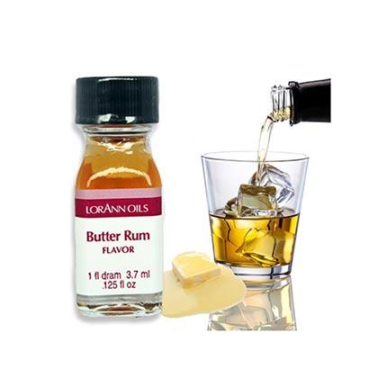 LorAnn Oils Flavors Butter Rum 3.7ml