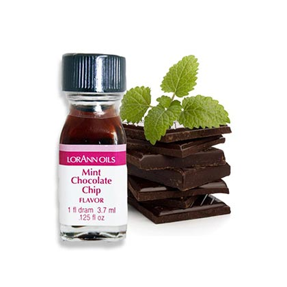 LorAnn Oils Flavors Mint Chocolate Chip 3.7ml