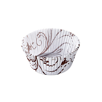 Ecopack Brown Flow Muffin Paper Cup Liner