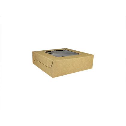 Kraft Paper 4 pcs Brownie Boxes