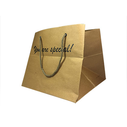 Reliable Kraft Paper Cake Bag - 1/2 kg