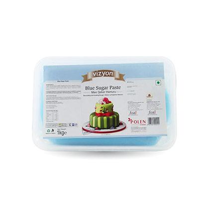 Vizyon Blue Sugar Paste