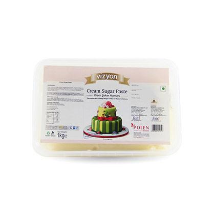 Vizyon Cream Sugar Paste