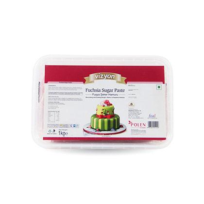 Vizyon Fuchsia Sugar Paste