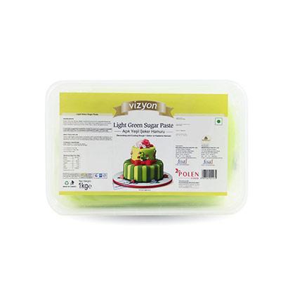 Vizyon Light Green Sugar Paste