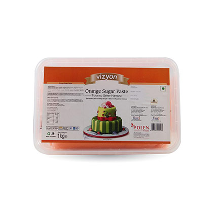 Vizyon Orange Sugar Paste