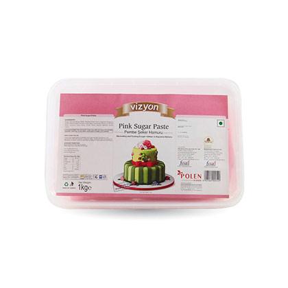 Vizyon Pink Sugar Paste
