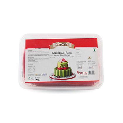 Vizyon Red Sugar Paste