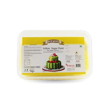Vizyon Yellow Sugar Paste