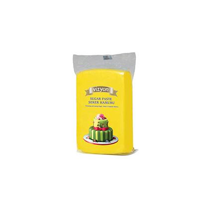Yellow Vizyon Sugar Paste 250 grms