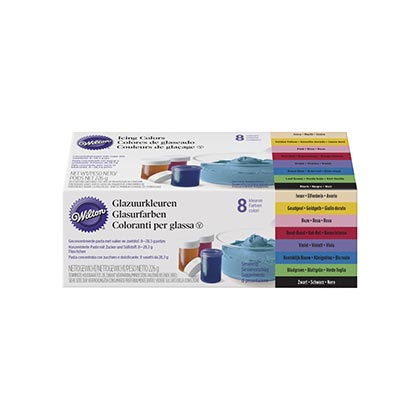Wilton - Icing Colour - Pack of 8