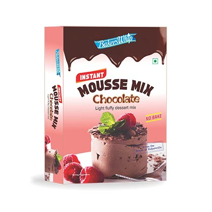 Bakerswhip Mousse Mix Chocolate